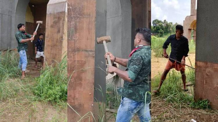 Minnal murali set demolition total 5 people arrested