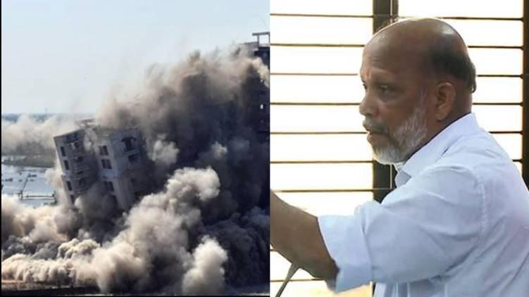 cpim leader ka devassy excluded from maradu case