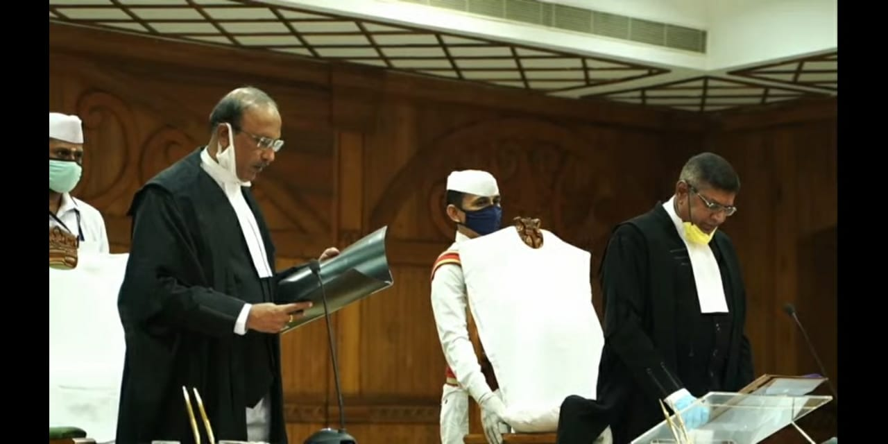 k haripal sworn in as HC judge