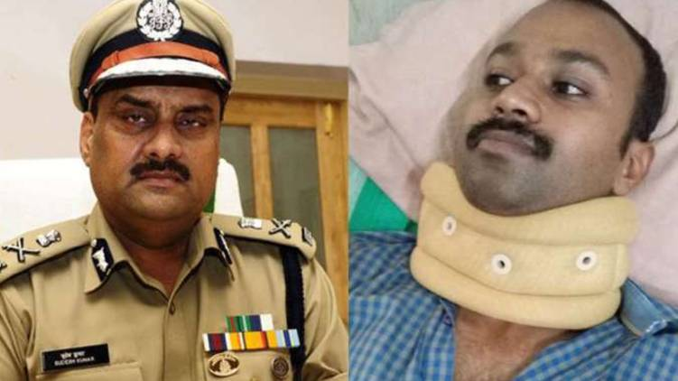 charge sheet against adgp sudesh kumar daughter physical abuse driver