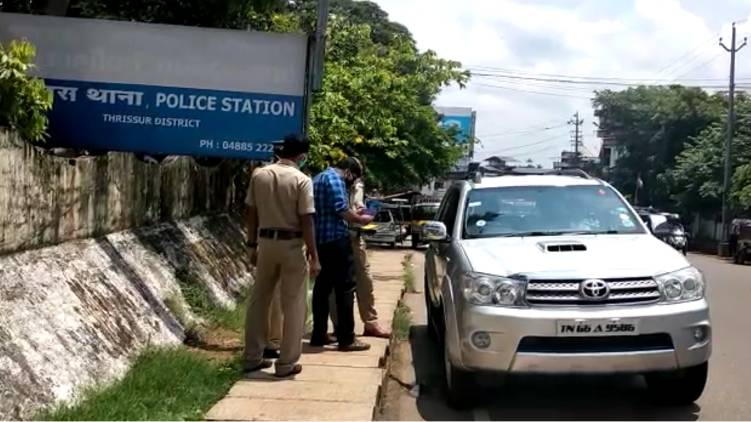 kerala police lockdown arrest