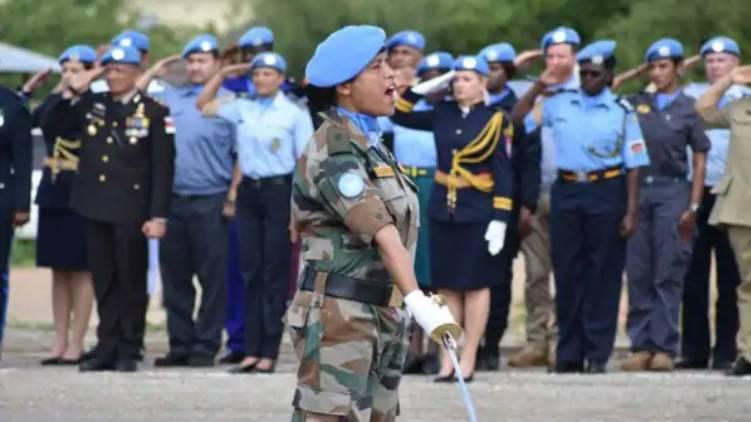 Indian Army Major Suman Gawani