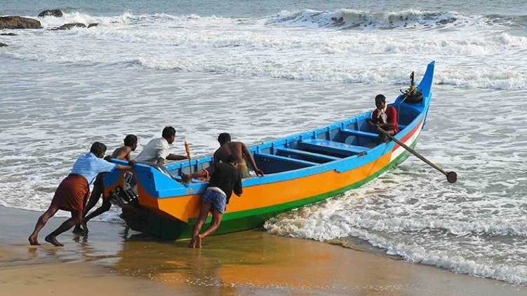 fishing boat kerala