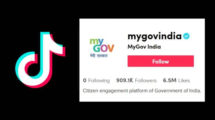 central govt tiktok account sparks controversy
