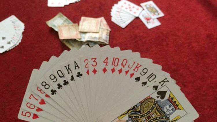 Rs 9 lakh reward for policemen who took playing cards