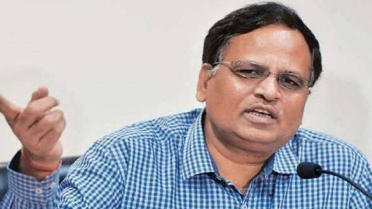 Delhi Health Minister Satyendra Jain hospitalized with covid symptoms