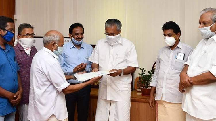 Sukumaran Vaidyan gave 2.75 acres of land to LifeMission