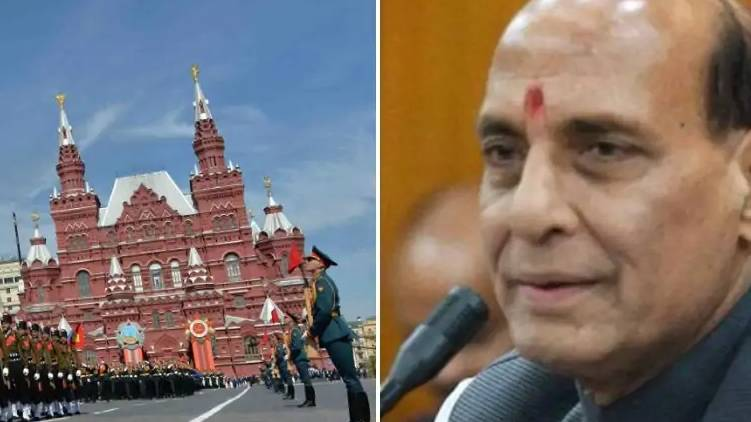 Rajnath Singh to participate in Victory Day parade in Moscow