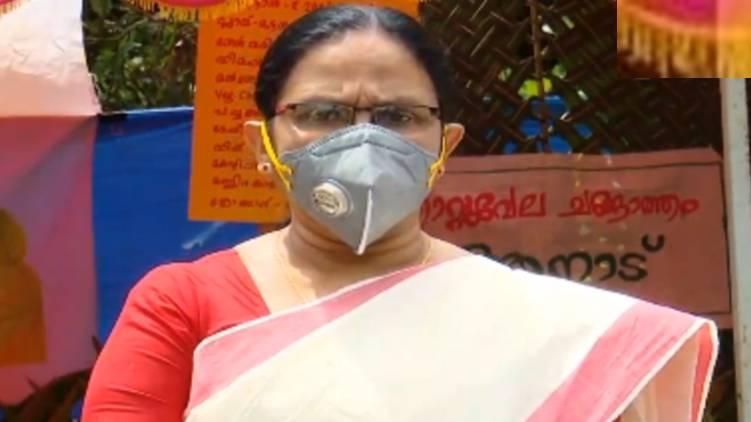 no community spread in kerala repeats health minister kk shailaja