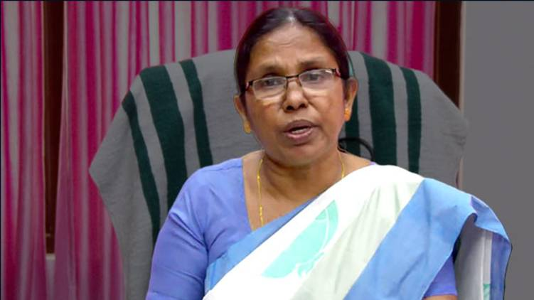 kk shailaja asks dgp strong action katinamkulath rape