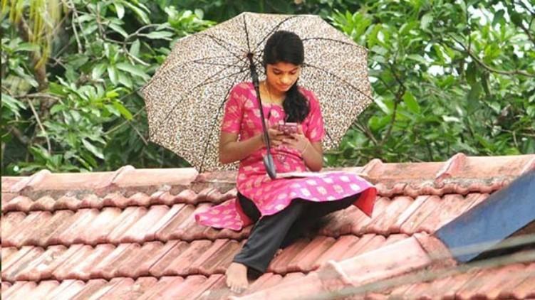 Namitha kottakkal girl rooftop
