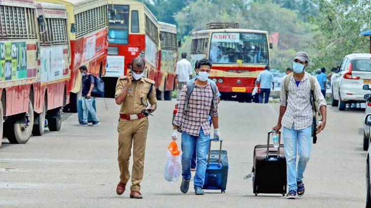 kerala allows inter district ksrtc service