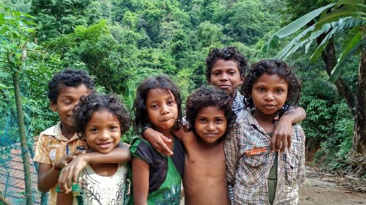 adivasi children wayanad