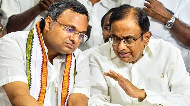 p chidambaram and karthi