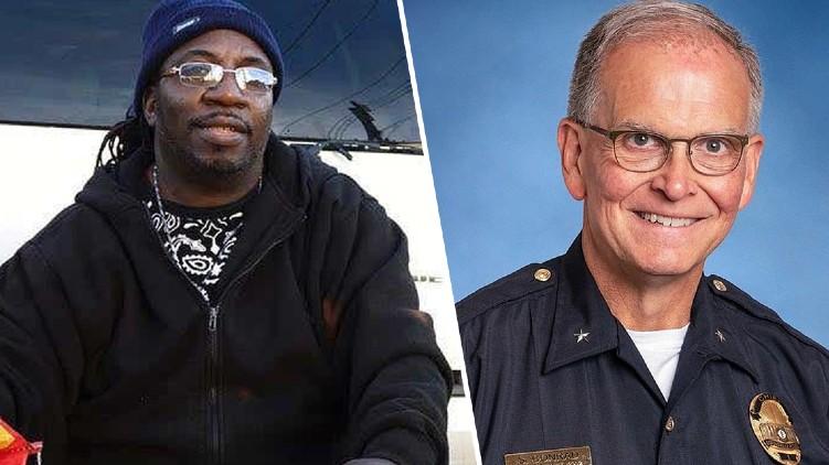 black man police america