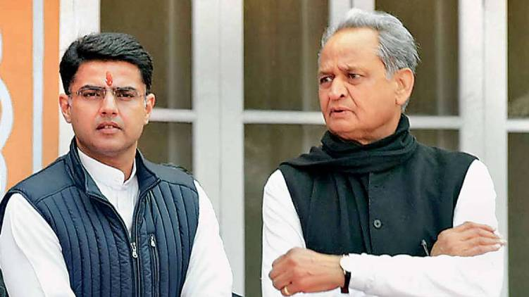 bjp attempts topple rajasthan govt alleges congress