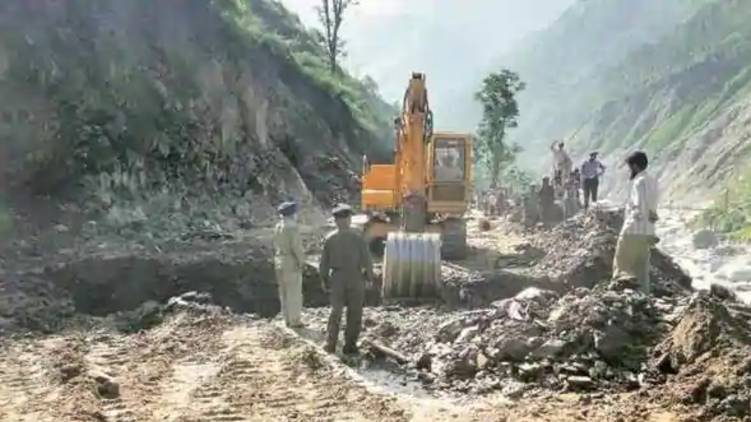 india begun india china border road construction