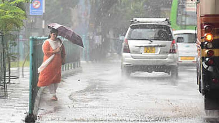 yellow alert in nine districts