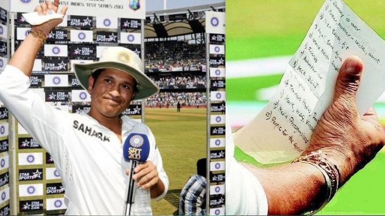 sachin farewell speech
