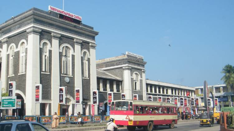 tvm railway station