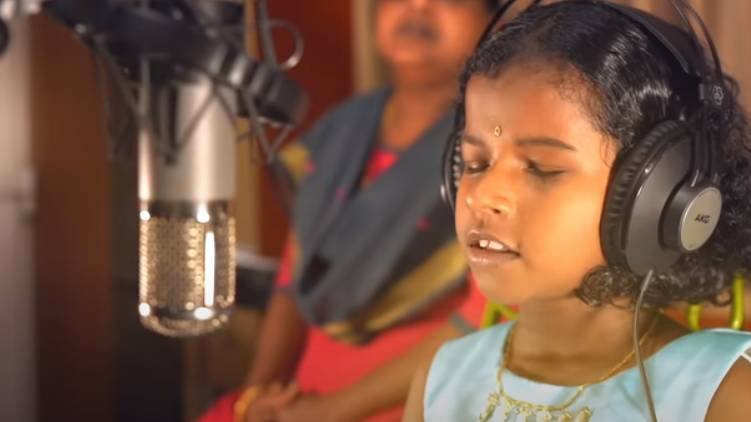 blind singer ananya