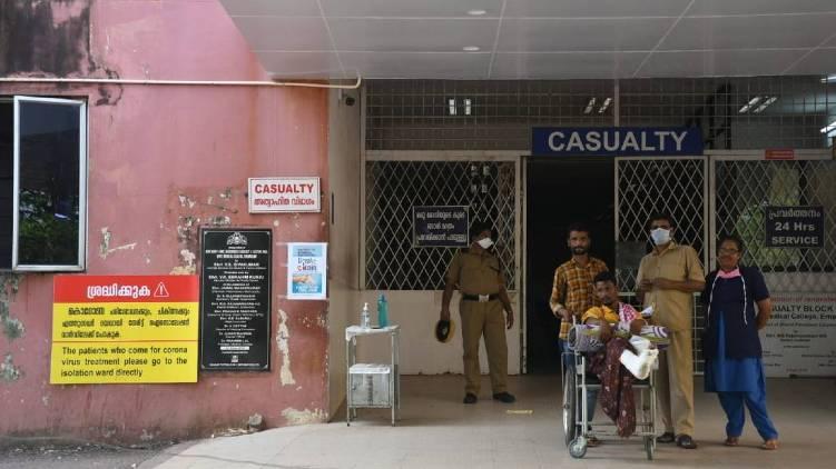eight affected covid ernakulam