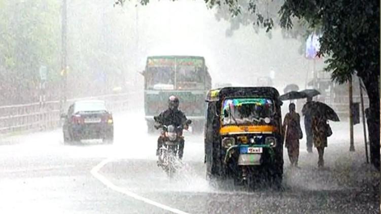 heavy rain yellow alert