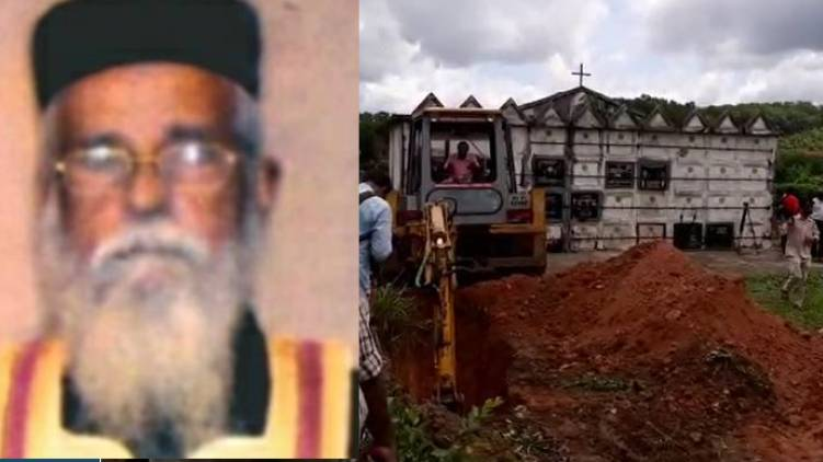 priest burial hill top cemetry says vk prashanth mla