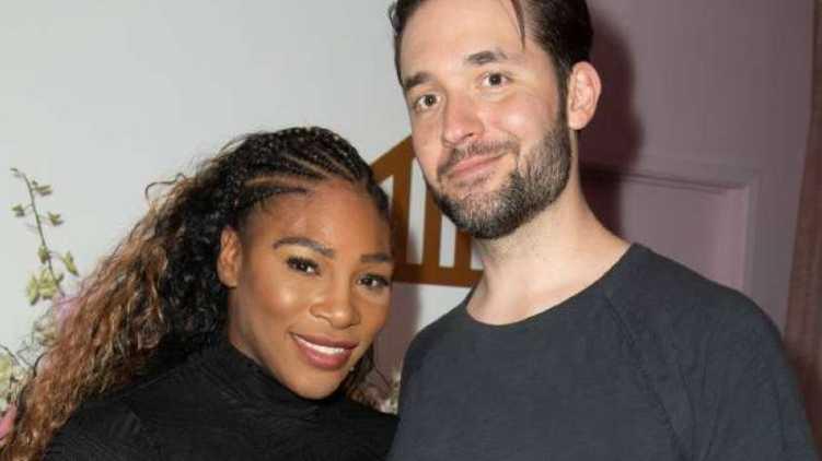 Serena willams, husbend,