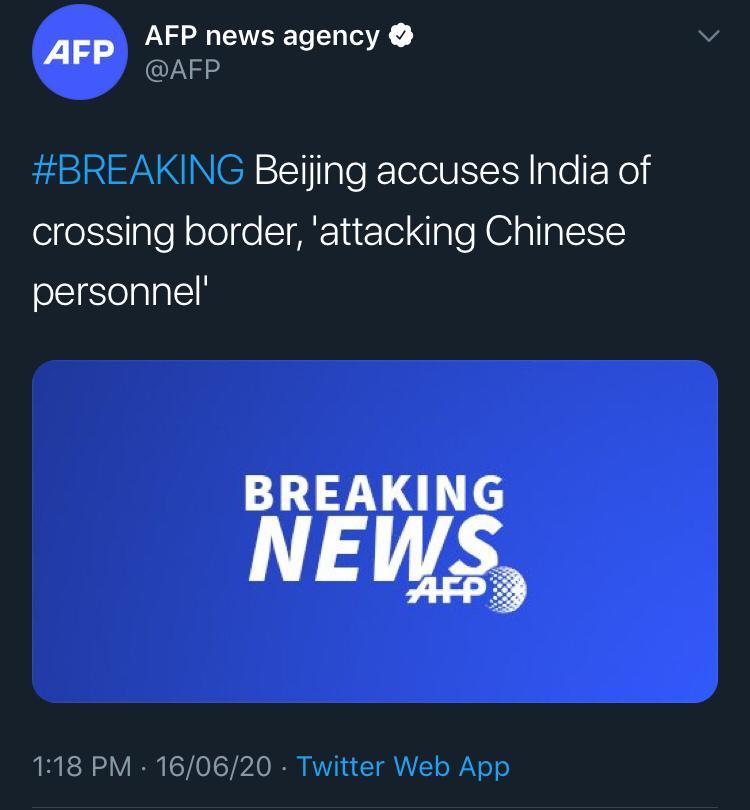 china accuses india