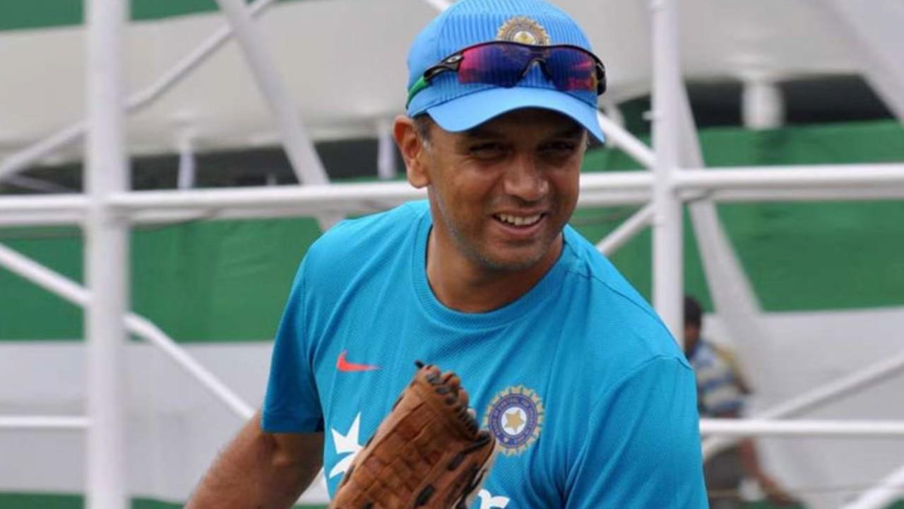 Rahul Dravid India coach