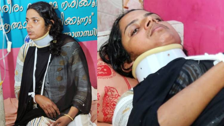 aluva cpim congress clash panchayath member hospitalized