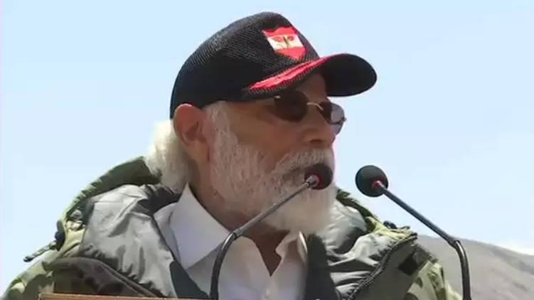 modi speech against china ladakh