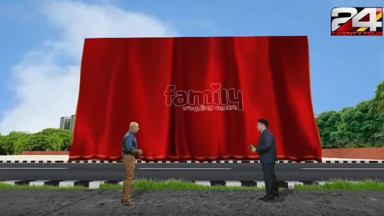 family wedding center virtual inauguration