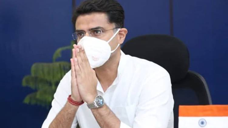 sachin pilot removed from cabinet and pcc