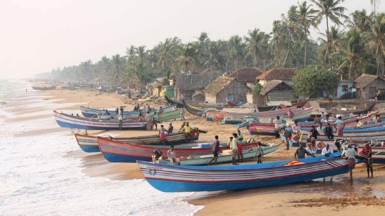 trivandrum coastal area divided to three zones