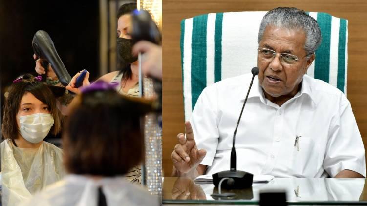 pinarayi vijayan points out cdc study hair stylist
