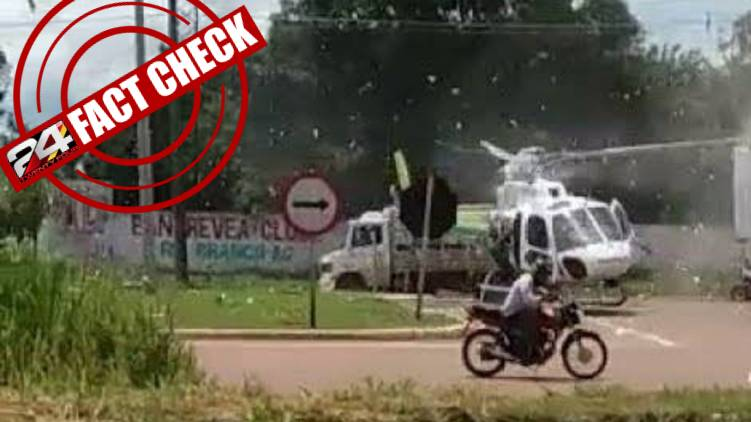 fake helicopter accident claiming from punjab 24 fact check