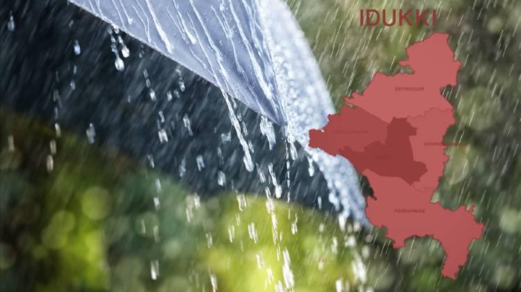 red alert declared in idukki