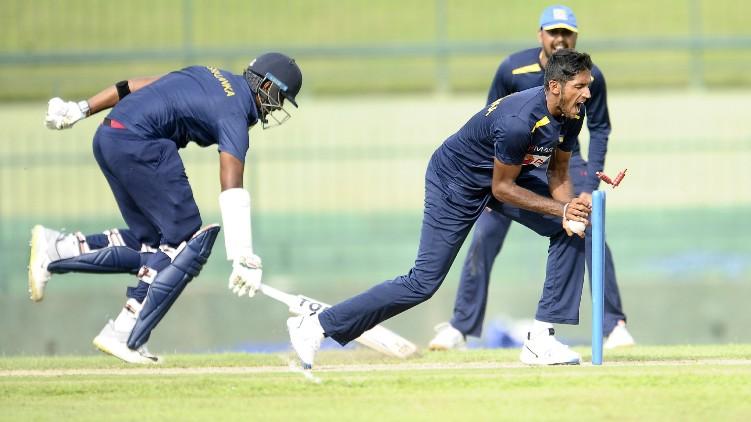 practice cricket match srilanka