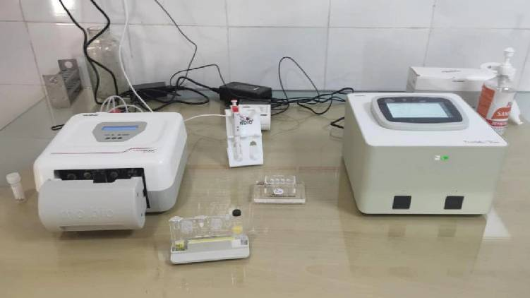 Truenat test started at Kasargod