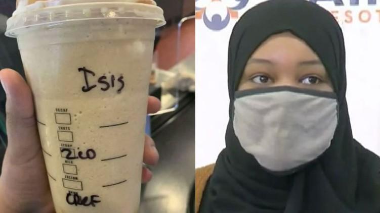 Muslim woman Starbucks ISIS