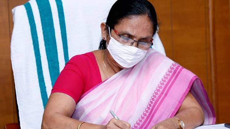 covid19 KK Shailaja attack health workers