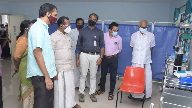 covid19 Kozhikode Second First Line Treatment Center
