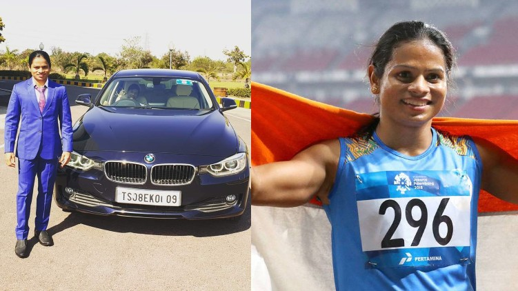 Dutee Chand sell BMW