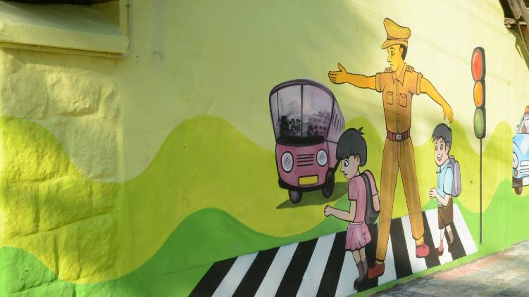 child friendly police station kerala