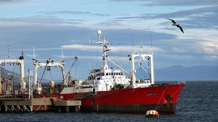 Fishing Crew Catches COVID-19