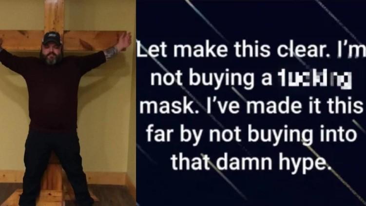 Man Refused Mask Coronavirus