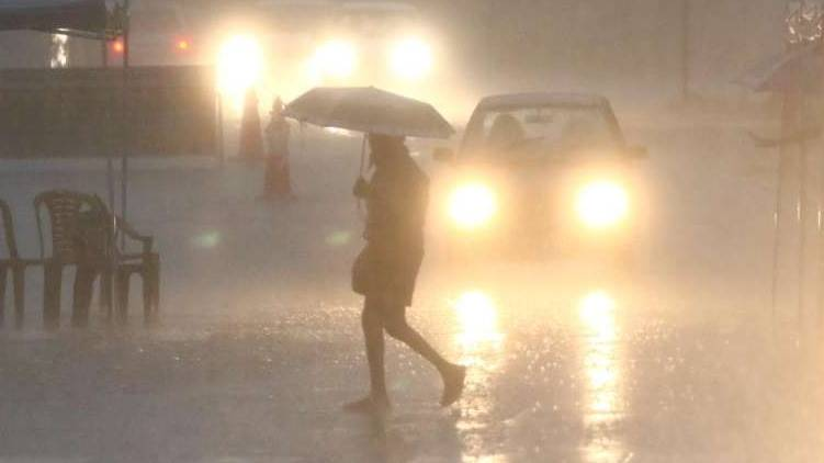 Heavy rains in the state; Yellow alert