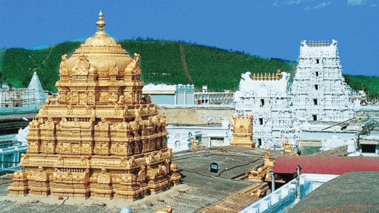 COVID-19 cases in Tirupati temple